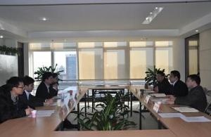 """刘震同志与中国青年海归协会专题研讨""""海归""""青年凝聚工作"""