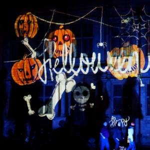 【甜心沙拉+海归协会】Halloween带你摇滚,带你爬梯
